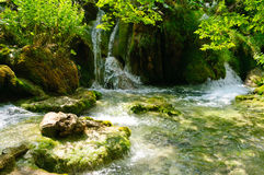 Plitvice Lakes National Park, Croatia Royalty Free Stock Photos