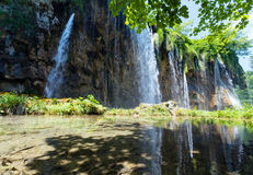 Plitvice Lakes National Park, Croatia Royalty Free Stock Images