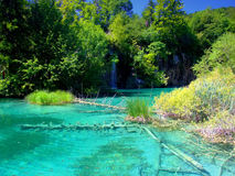 Plitvice Lakes National Park,Croatia Stock Image