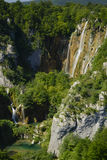 Plitvice Lakes, Waterfall Stock Images
