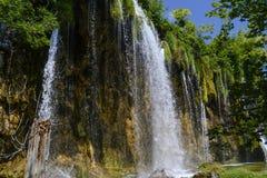 Plitvice Lakes Waterfalls Royalty Free Stock Images