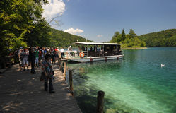 Plitvice lakes Royalty Free Stock Photo