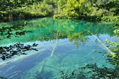 Plitvice Lakes National Park (Croatia) Stock Photography