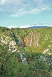Plitvice Lakes National Park in Croatia Stock Photography