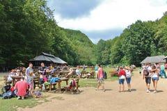 Plitvice Lakes National Park in Croatia Stock Photos