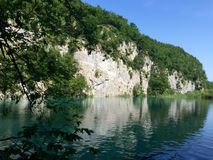 Plitvice lakes national park. Croatia. Lower lakes Royalty Free Stock Images