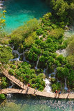 Plitvice Lakes National Park in Croatia Stock Images