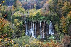 Plitvice Lakes National Park , Croatia. Plitvice Lakes National Park is one of the oldest national parks in Southeast Europe and the largest national park in royalty free stock photo