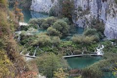 Plitvice Lakes National Park , Croatia. Plitvice Lakes National Park is one of the oldest national parks in Southeast Europe and the largest national park in stock photo