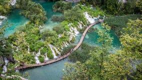 Plitvice lakes national park Croatia Royalty Free Stock Photos