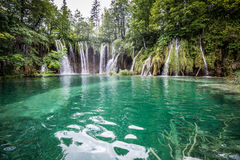 Plitvice lakes national park Croatia Royalty Free Stock Image