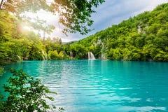 Plitvice Lakes National Park. Croatia Royalty Free Stock Photo
