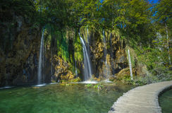 Plitvice Lakes National Park, Croatia. UNESCO heritage site Stock Photo