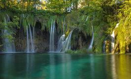 Plitvice Lakes National Park, Croatia. UNESCO heritage site Stock Images