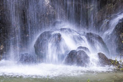 Plitvice lakes national park detail Royalty Free Stock Images