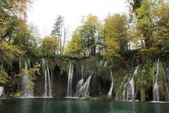 Plitvice Lakes National Park , Croatia. Plitvice Lakes National Park is one of the oldest national parks in Southeast Europe and the largest national park in stock images