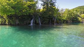 Plitvice Lakes National Park stock video footage