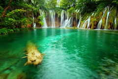 Plitvice lakes park in Croatia Royalty Free Stock Images