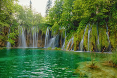 Plitvice lakes park in Croatia Stock Photography