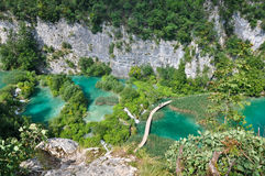 Plitvice Lakes Pass Royalty Free Stock Photo