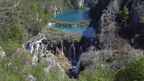 Plitvice lakes ( Plitvicka jezera ), Croatia Stock Images