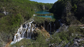 Plitvice lakes ( Plitvicka jezera ), Croatia Royalty Free Stock Photos