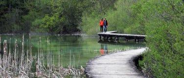 Plitvice lakes ( Plitvicka jezera ), Croatia Royalty Free Stock Photo
