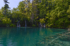 Plitvice Lakes Waterfall Stock Images