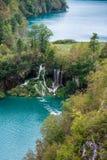 Plitvice lakes and waterfalls Stock Photos