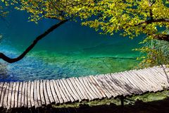 Plitvice lakes and waterfalls Stock Image