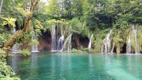 Plitvice LakesKroatien Royaltyfri Fotografi