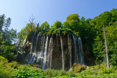 Plitvice Lakesnationalpark, Kroatien Royaltyfria Bilder