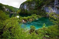 Plitvice Lakes - Kroatien royaltyfri bild