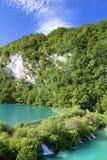 Plitvice natürlicher Park stockbilder