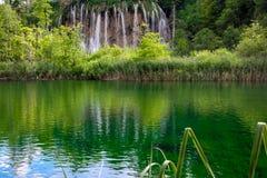 Plitvice Nationaal Park in Kroatië Stock Fotografie