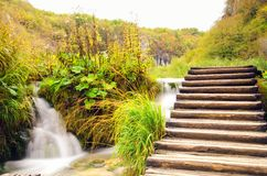 Plitvice National Par Royalty Free Stock Image