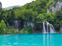 Plitvice National Park. Landscapes from the Plitvice natural Park in Croatia Royalty Free Stock Images