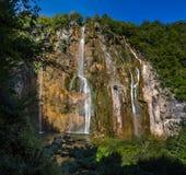 Plitvice National Park, Croatia - the Big Waterfall, Stock Photography
