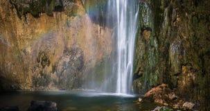 Plitvice National Park, Croatia - the Big Waterfall, Stock Images