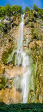 Plitvice National Park, Croatia - the Big Waterfall, Royalty Free Stock Photography