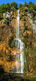 Plitvice National Park, Croatia - the Big Waterfall, Royalty Free Stock Image