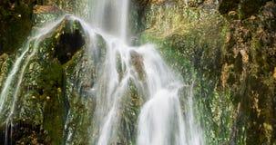 Plitvice National Park, Croatia - the Big Waterfall, Royalty Free Stock Image