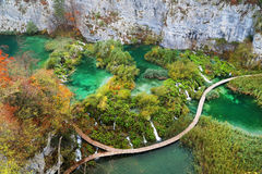 Plitvice National Park, Croatia, Europe Royalty Free Stock Photography
