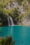Plitvice National Park, Croatia. On a hot summer day Stock Images