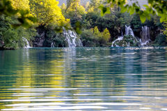 Plitvice waterfalls Croatia Royalty Free Stock Image
