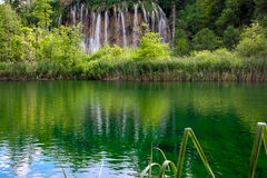Plitvice waterfalls Croatia Stock Photography