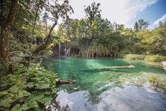 Plitvice National Park, Croatia Stock Images