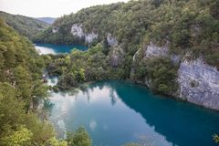 Plitvice National Park, Croatia Royalty Free Stock Image