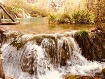 Plitvice National Park  Lakes Croatia Royalty Free Stock Photography
