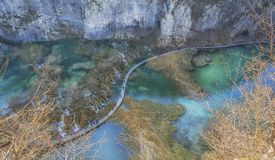Plitvice national park ,masterpiece of nature 5. The Plitvice National Park is a true masterpiece of nature where the waters from the beautiful lakes flow stock photography